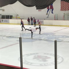 Photo taken at Southwest Ice Arena by Rebekah H. on 5/25/2013