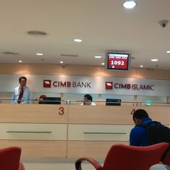 Photo taken at CIMB Bank by Danny H. on 10/23/2013