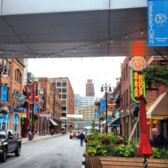 Photo taken at Greektown Historic District by 🌻 Kelly Sue 🌻 on 9/3/2015