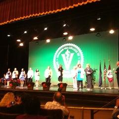 Photo taken at Burruss Hall by Jason C. on 10/28/2012