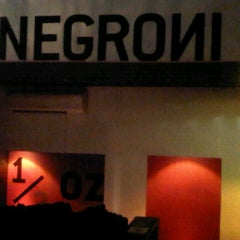 Photo taken at Negroni by Victoria on 12/8/2012