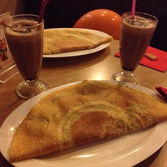 Photo taken at Hari's Creperie by DesiB. on 9/14/2014