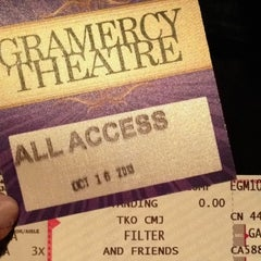 Photo taken at Gramercy Theatre by Jessica H. on 10/17/2013