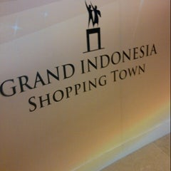 Photo taken at Grand Indonesia Shopping Town by Utami A. on 3/1/2013