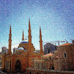 Photo taken at Beirut Central District by Arz L. on 4/24/2015
