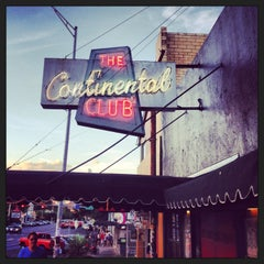 Photo taken at Continental Club by Amanda H. on 6/19/2013