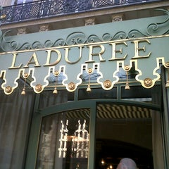 Photo taken at Ladurée by Tony C. on 4/14/2013