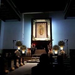 Photo taken at Parroquia De Nuestra Señora De Guadalupe by Ricardo T. on 1/27/2013
