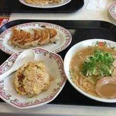 Photo taken at 餃子の王将 君津店 by Tatsuhiro A. on 8/10/2013