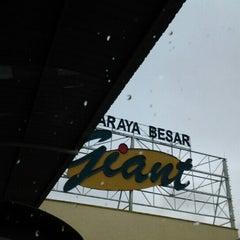 Photo taken at Giant Hypermarket by rozett on 12/23/2012