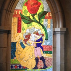 Photo taken at Be Our Guest Restaurant by Brittany H. on 1/10/2013