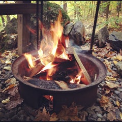 Photo taken at Malouf's Mountain Sunset Campground by Adam W. on 10/23/2012