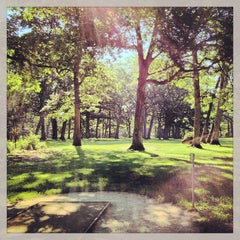 Photo taken at The Oaks Disc Golf Course by AbucadA .. on 7/13/2013