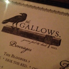 Photo taken at The Gallows by Cristin J. on 12/9/2012