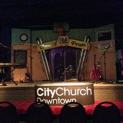 Photo taken at City Church Downtown by Jason A. on 10/14/2012