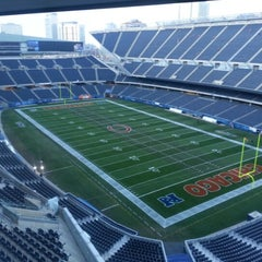 Photo taken at Soldier Field by Susan S. on 11/25/2012