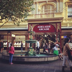 Photo taken at Adelaide Arcade by Miss L. on 4/24/2013