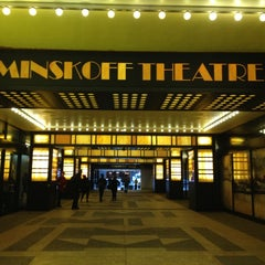 Photo taken at Minskoff Theatre by Tina L. on 1/2/2013