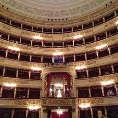 Photo taken at Teatro alla Scala by Stanislav K. on 10/9/2012