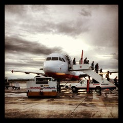 Photo taken at Ercan Havalimanı | Ercan Airport by Ezgi Ç. on 12/7/2012