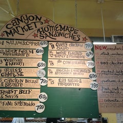 Photo taken at Canyon Market by Mario R. on 1/18/2013