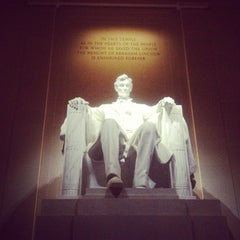 Photo taken at Lincoln Memorial by Jonathan G. on 5/26/2013