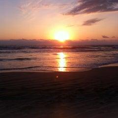 Photo taken at Playa Bonfil by Javier B. on 2/2/2013