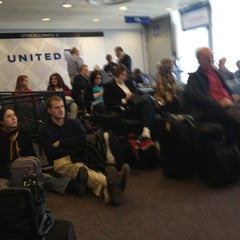 Photo taken at Gate F7A by Kate S. on 4/1/2013
