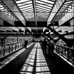 Photo taken at Station Rotterdam Centraal by Mariana W. on 5/1/2013