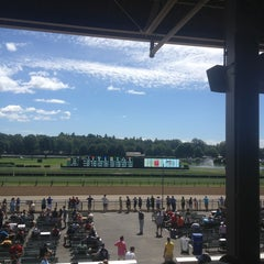 Photo taken at Saratoga Race Course by preston n. on 8/10/2013