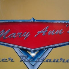 Photo taken at Mary Ann's Diner by Patrick M. on 9/22/2012