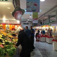 Photo taken at Marheineke Markthalle by Connie H. on 10/23/2012