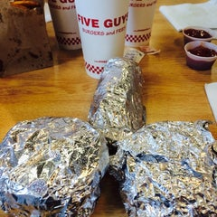 Photo taken at Five Guys by DocnRutter S. on 6/29/2014