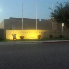 Photo taken at Citrus Valley High School by Trina R. on 8/30/2014