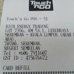 Photo taken at Petronas R&R Seremban (Utara) PLUS Highway. by yoesry K. on 10/2/2015