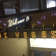 Photo taken at Las Vegas Airport Tram by Guy C. on 10/12/2015