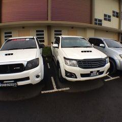 Photo taken at Kompleks Sukan Ranau by ᴄ ᴀ ᴛ ᴀ ʟ ʏ s ᴛ on 1/1/2014