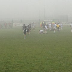 Photo taken at Campi Petrarca Rugby by gabriele p. on 12/22/2012