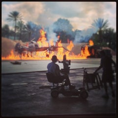Photo taken at Indiana Jones Epic Stunt Spectacular! by Jay D. on 2/21/2013