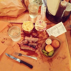 Photo taken at Hill Country Barbecue Market by Graeme F. on 7/25/2013