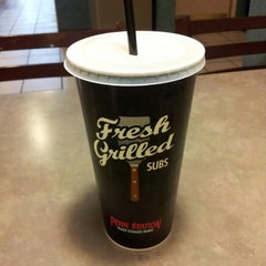 Photo taken at Penn Station East Coast Subs by Lucky D. on 2/9/2013