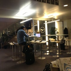 Photo taken at Lufthansa Business Lounge by Alexander G. on 4/27/2013