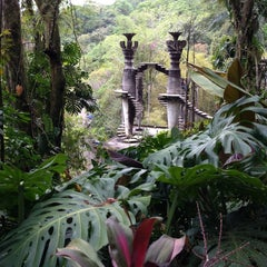 Photo taken at Jardin Edward James Xilitla by Michelle M. on 3/27/2013