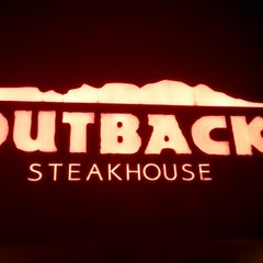 Photo taken at Outback Steakhouse by Ayman T. on 4/15/2013