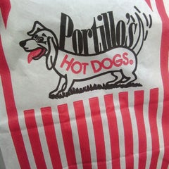 Photo taken at Portillo's Hot Dogs by Bridget D. on 1/24/2013