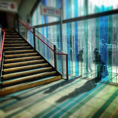 Photo taken at Shadwell DLR Station by Keshav L. on 3/6/2013
