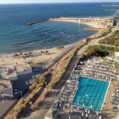 Photo taken at Hilton Tel Aviv by Maria B. on 9/25/2012