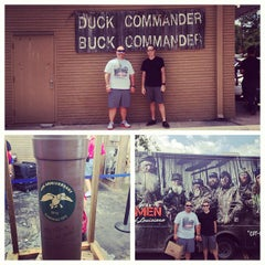Photo taken at Duck Commander Headquarters by James R. on 7/6/2013