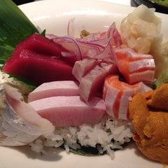 Photo taken at Kiku Sushi by Yoonsung on 11/2/2013