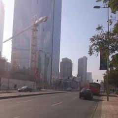 Photo taken at Paradero Escuela Militar by felipe l. on 6/19/2013